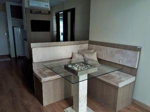 Apartamento p/ temporada quadra mar 1 suíte - centro/bc