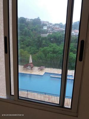 Apartamento para locação - cotia / sp, bairro centro