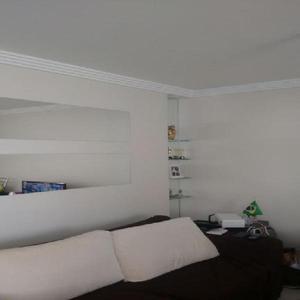 Apartamento residencial para locação, vila alzira, santo