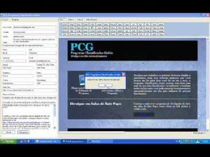 Software para divulgação na internet