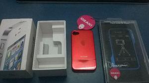 Caixa iphone 4s 16gb original + bumper osaki + capa vx case