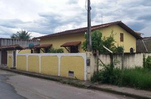 Casa linear, 02 quartos no bairro recanto, rio das ostras