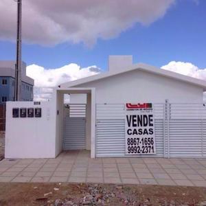 Vende-se excelentes casas no bairro joão paulo ii, de
