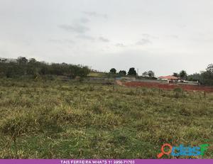 Terreno com 200m2 guararema s.p
