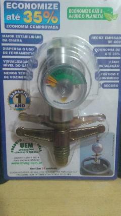 Válvula ecológica economiza gás de cozinha glp