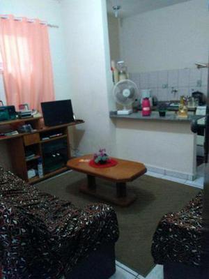 Apartamento com 1 dorm, real, praia grande - r$ 140.000,00,