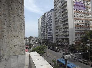 Apartamento residencial para locação, boqueirão, santos
