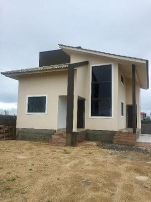 Casa nova - rescem construida para veraneio