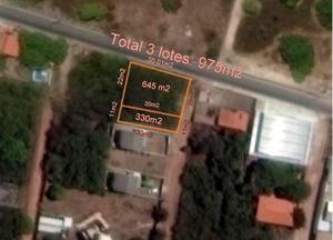 Te0011 terreno residencial / precabura 4 lotes