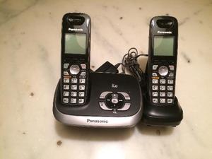 Telefone sem fio com secretária eletrônica panasonic +