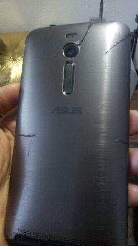 Zenfone2 funcionando, mas com a tela quebrada