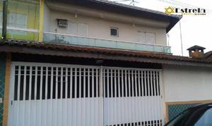 Casa residencial à venda, vila assunção, praia grande -
