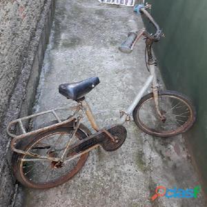 Bicicleta antiga dobrável aro 16