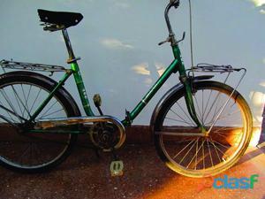 Bicicleta dobrável aro 24 antiga