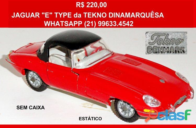 "Jaguar ""E"" Type da Tekno dinamarquesa."