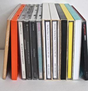 12 x cds musica pet shop boys