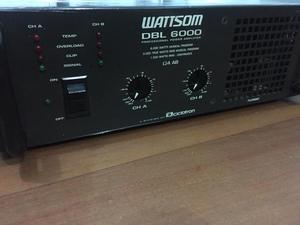 Amplificador potência e força de som profissional watsson