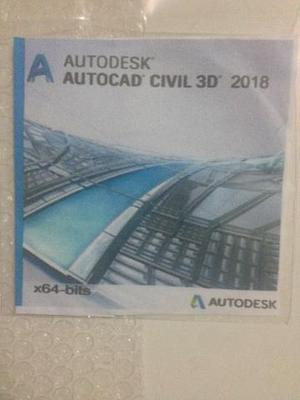 Autocad civil 3d 2018 - 64 bits