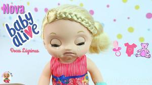 Baby alive doces lagrimas fala portugues. hasbro