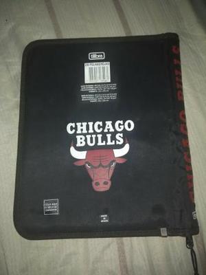 Case capa para cadernos marca chicago bulls