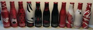 Coca cola garrafinhas (11 modelos)