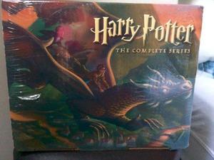 Coleção completa harry potter, em inglês, em caixa