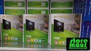 Conversor set top box receptor tv digital youtube e gravador