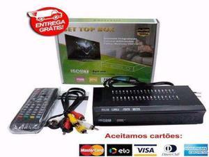 Conversor tv digital multimídia com gravador -novo-entrega