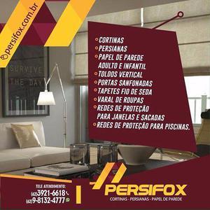 Cortinas / persianas / papeis de parede (62) 3921-6618
