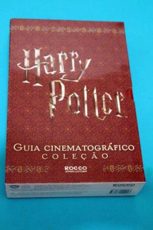Harry potter - guia cinematográfico - box de livros