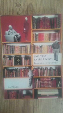 José mindlin 4 livros em ótimo estado