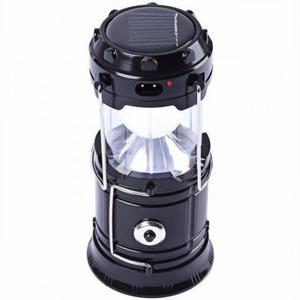 Lampião lanterna led solar de camping usb