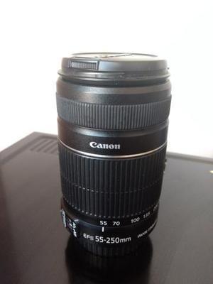 Lente canon 55-250mm is ii