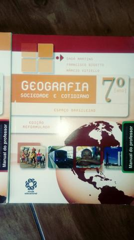 Livro de geografia sociedade e cotidiano