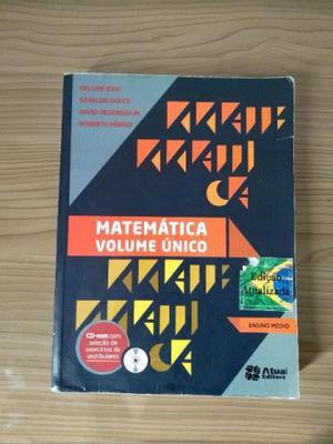 Livro didático de matemática - volume único - 5ª