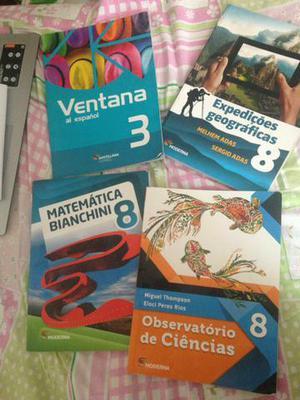 Livros do 8 ano