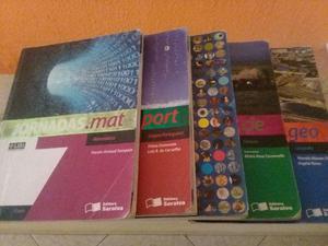 Livros do ensino fundamental 7, 8 e 9 ano jornada e para