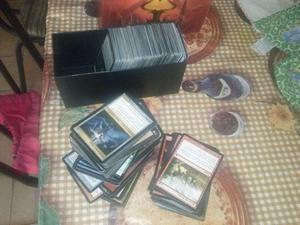 Lotes de 300 cards mtg por 15 reais cada