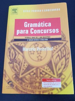 Marcelo rosenthal gramatica para concursos