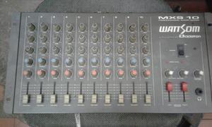 Mesa de som wattsom 10 canais