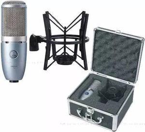 Microfone akg perception 220 vai com shock mount e case