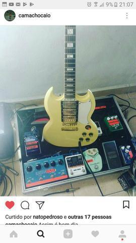 Pedais e efeitos de guitarra