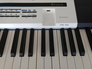 Piano digital casio privia px-5s