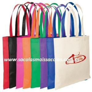 49bb6e23e Sacolas eco-bags em tnt cores 80 gr - promoção