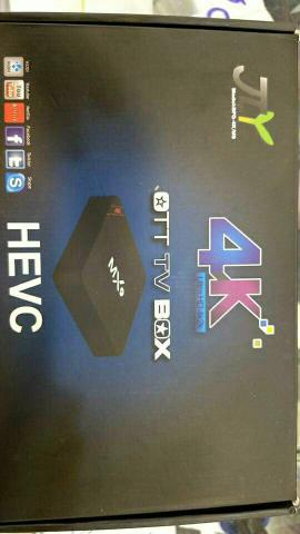 Smart Tv Ott Box Android 4k Ultra Hd Netflix Youtube IPTV -