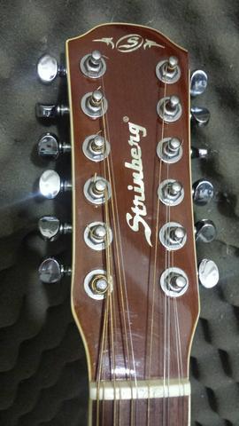 Violão strinberg 12 cordas - troko / parcelo 12x