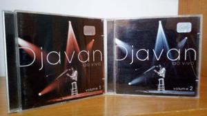 4 cds do djavan usados em ótimo estado