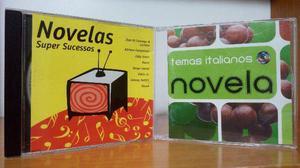 5 cds - temas de novelas rede globo e tributa a ayrton senna