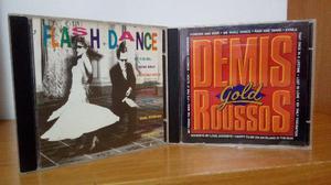 7 cds - queen and george michael, santa esmeralda, bob