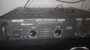 Amplificado wattsom 3300w power slim line design